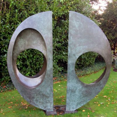 Barbara Hepworth 'Two Forms (Divided Circle)' (1969)