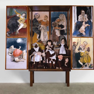 Paula Rego at the Foundling Museum